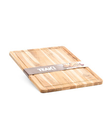 TEAKHAUS 18x14 Cutting Board With Juice Channel