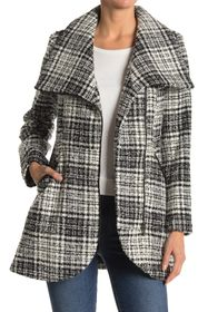 French Connection Houndstooth Tweed Jacket