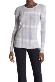 Donna Karan Tie Dye Crew Neck Sweater