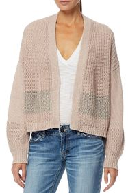360 Cashmere Tulsa Colorblock Trim Cardigan