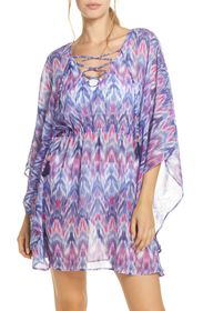 Tommy Bahama Mirage Lace Front Tie Dye Cover-Up Tu