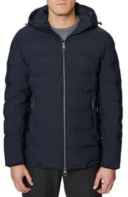 Hickey Freeman Seam Sealed Quilted Jacket