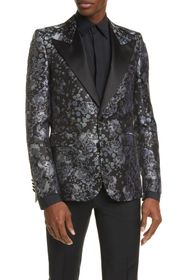 Givenchy Double Breasted Silk Tuxedo Jacket