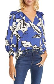 VERONICA BEARD Milan Floral Silk Blend Blouse