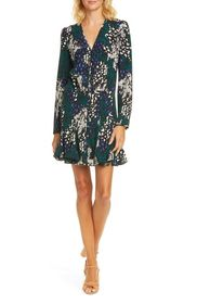 VERONICA BEARD Riggins Floral Silk Blend Mini Dres