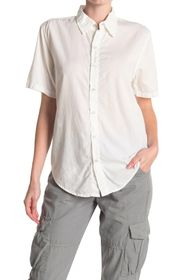 NSF CLOTHING Miley Short Sleeve Button Up