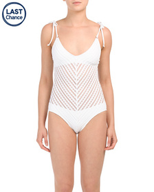 ROBIN PICCONE Carly One-piece Swimsuit