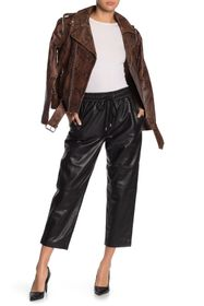 Walter Baker Minh Leather Joggers