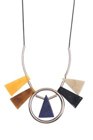 TOPSHOP Triangle Perspex Necklace
