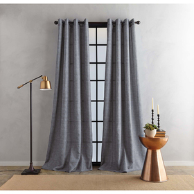 Bedeck Juma Solid Grommet Window Curtain Panel