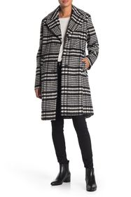 Nine West Notch Collar Walker Coat