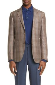 Ermenegildo Zegna Milano Easy Plaid Print Sport Co