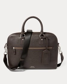 Ralph Lauren Pebbled Leather Briefcase