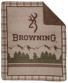 White River Browning Mountain Plaid Micro Mink Thr