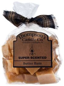 Thompson's Candle Co. Butter Rum Candle Crumbles W