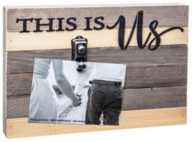 Sweet Bird & Co. This is Us Reclaimed Wood Clip Fr