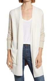 Madewell Kent Cardigan in Colorblock