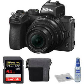 Nikon Z 50 Mirrorless Digital Camera with 16-50mm