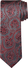Jos Bank Reserve Collection Floral Scroll Tie CLEA
