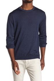 Bugatchi Merino Wool Crew Neck Sweater
