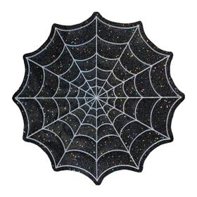 Celebrate Halloween Together Spiderweb Cutout Plac
