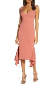 Katie May Flamenco Crepe Cocktail Dress