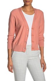 J. Crew V-Neck Front Button Cardigan