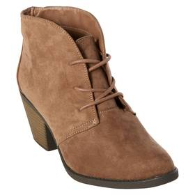 Womens New @titude Lacie Faux Suede Ankle Boots