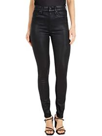 7 For All Mankind The High-Waist Skinny Faux Pocke