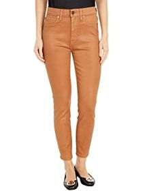 7 For All Mankind High-Waist Ankle Skinny in Penny