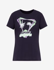 Armani TEE WITH ROLLED UP SLEEVES
