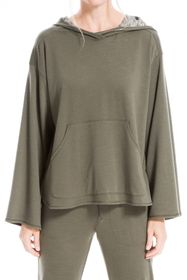 Max Studio Long Bubble Sleeve Pullover
