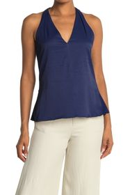 Ramy Brook Daisy V-Neck Draped Tank Top