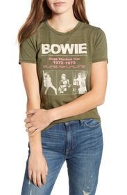 Lucky Brand Bowie Stardust Tour Graphic T-Shirt