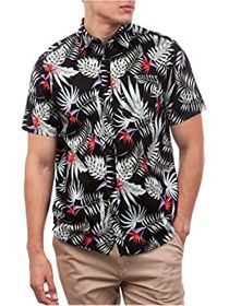 Hurley Hurley - Exotic Stretch Short Sleeve Woven