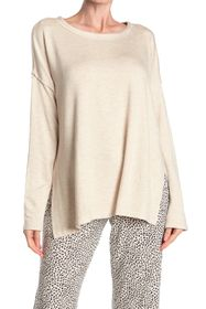 Donna Karan Long Sleeve Pajama T-Shirt