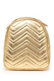 CHRISTIAN LAURIER Donna Metallic Leather Backpack