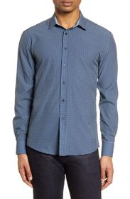 Vince Camuto Slim Fit Button-Up Performance Shirt