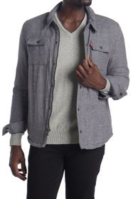 Levi's Faux Shearling Lined Shirt Jacket