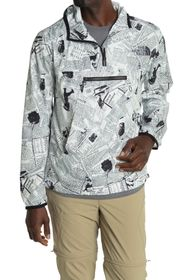 The North Face Patterned Crew Neck Anorak Jacket