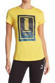 PUMA Two-Tone Knockout Tee