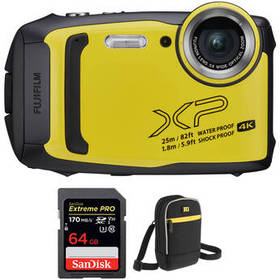 FUJIFILM FinePix XP140 Digital Camera with Accesso