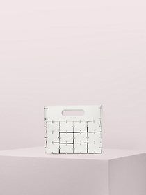 Kate Spade celia leather medium top handle clutch