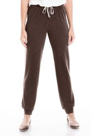 Max Studio Heathered French Terry Joggers