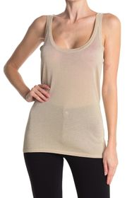 Elie Tahari Esme Scoop Neck Knit Tank