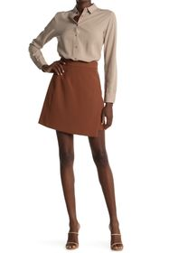 French Connection Alido Wrap Mini Skirt