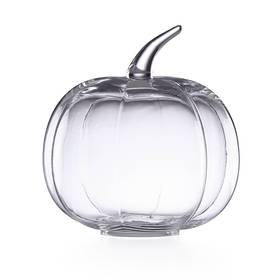Lenox Glass Pumpkin Medium Cloche Centerpiece