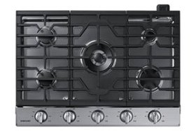 """Samsung - 30"""" Built-In Gas Cooktop with WiFi - Sta"""