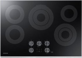 """Samsung - 30"""" Electric Cooktop with WiFi - Stainle"""