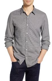 7 For All Mankind Slim Fit Houndstooth Button-Up S